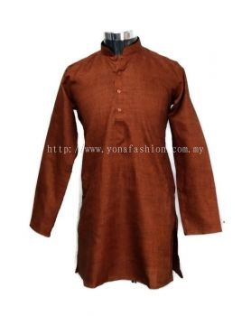 MEN'S TRADISIONAL  SOFT LINEN COTTON LONG KURTA