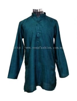PLUS SIZE MEN'S TRADISIONAL  SOFT LINEN COTTON LONG KURTA
