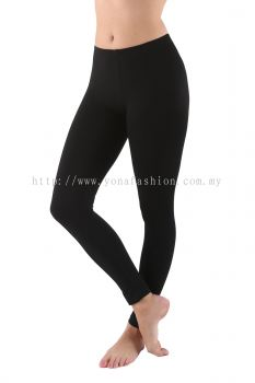 Girls kids plain cotton stretchable  legging.