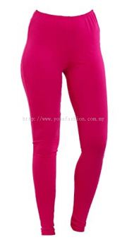 Girls kids plain cotton stretchable  legging.