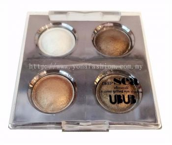 Deep Sea 4 Colours Grilled Eyeshadow (Multicolor)   -2