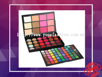 96 Colors Makeup Palette Set Eyeshadow + Concealer + Lip Colors + Blusher (Multicolour)