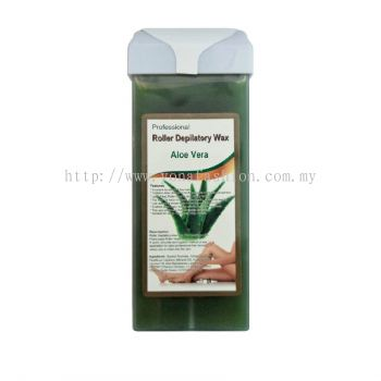 Roller Depilatory Aloe Vera Wax (Green)