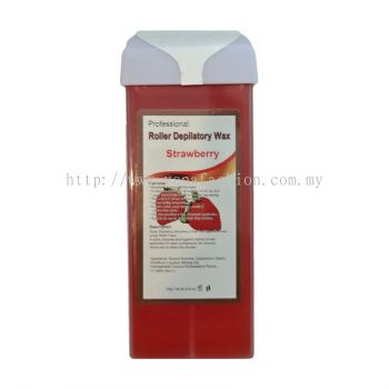 Roller Depilatory Strawberry Wax (Red)