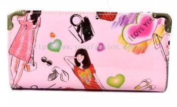 Lady Design Purse (Pink)