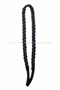 Braid Hair Band-Loose Type (Black)