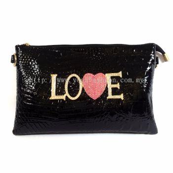 LOVE Design Party Bag (Black)