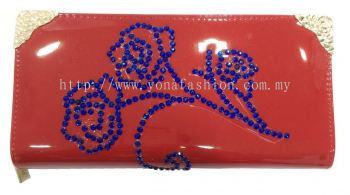 Rose Stone Purse (Red)
