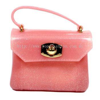 Glitter Trendy Sling Bag (Pink)