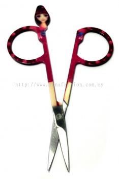 Mini Fancy Eyebrow Scissors (Assorted)