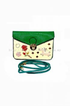 Design Cross-body Bag (Green)
