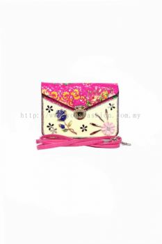 Design Cross-body Bag (Pink)