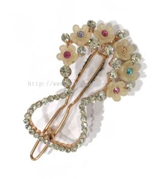 Stone Hair Pin (Assorted)