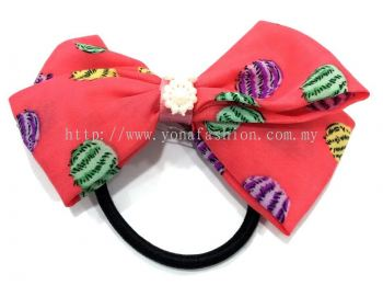 Ribbon Hair Tie (Red)