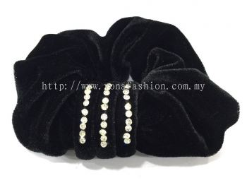 Stone Hair Tie (Black)