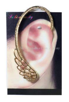 Peacock Ear Cuff (Gold)
