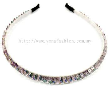 Purple Crystal Hair Band (Shiny)