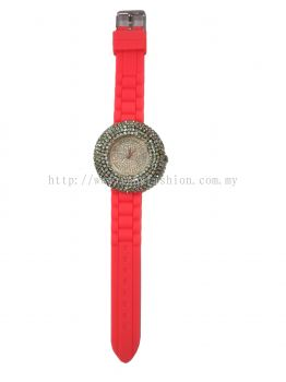 Classic Full Stone Watches (Reddish)