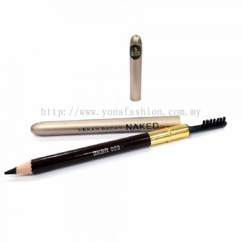 Eyebrow Pencil & Brush (Black Brown)