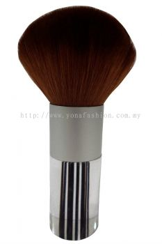 Professional Colourful Big Make-Up Brush (Black Brown)