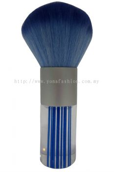 Professional Colourful Big Make-Up Brush (Blue White)