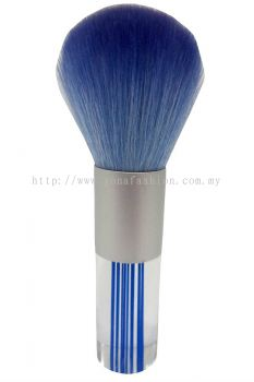 Professional Colourful Small Make-Up Brush (Blue White)