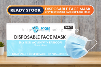 BFE95% - Disposable Face Mask (Earloop)
