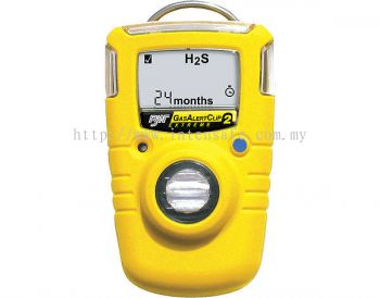 BW GasAlertClip Extreme 2-Year Single Gas Detector
