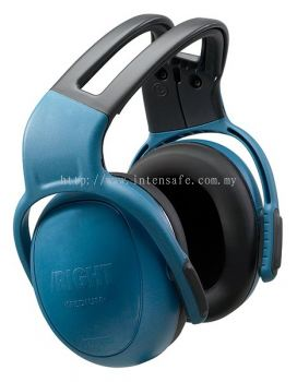 MSA leftRIGHT Earmuff, Medium, Headband, Blue