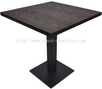 Square Table With Square MS Leg