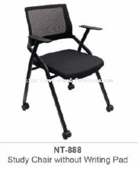 NT-888 STUDY CHAIR WITHOUT WRITING PAD