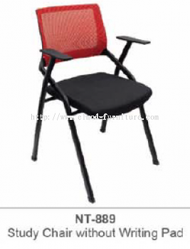 NT-889 STUDY CHAIR WITHOUT WRITING PAD