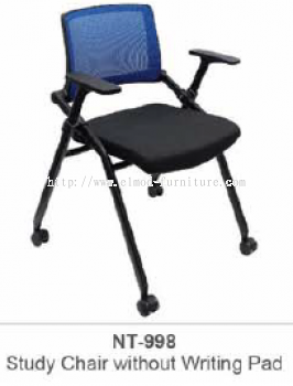 NT-998 STUDY CHAIR WITHOUT WRITING PAD