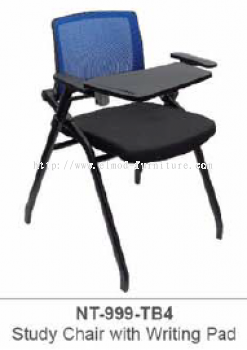 NT-999-TB4 STUDY CHAIR WITH WRITING PAD