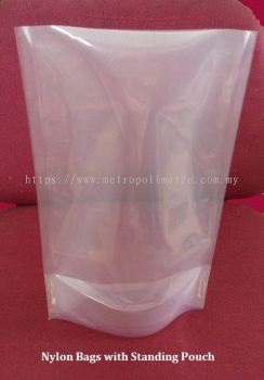 Nylon Bags with Standing Pouch