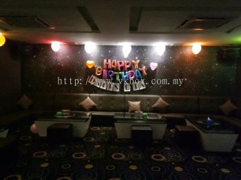 BIRTHDAY PART VIP Room AT V KBOX