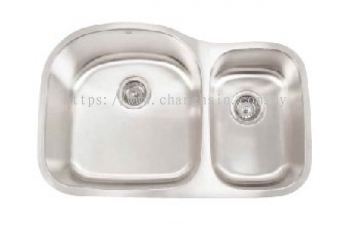 BIG & SMALL DOUBLE SINK (CH3220F)