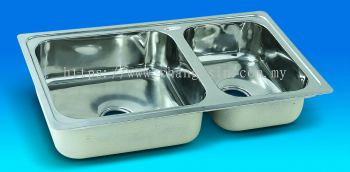 BIG & SMALL DOUBLE SINK (NDS+31+41)