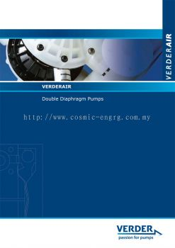 Verderair Double Diaphragm Pumps