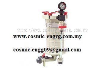 Chemical Filter Housing equivalent to SCH Filter Housing, Super Filter Housing