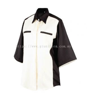 READY MADE UNIFORM F0613 (Begie & Black)