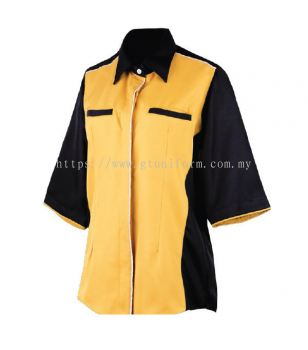 READY MADE UNIFORM F0614 (G. Yellow & Black)