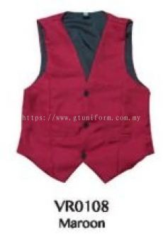 READY MADE VEST VR0108 (MAROON)