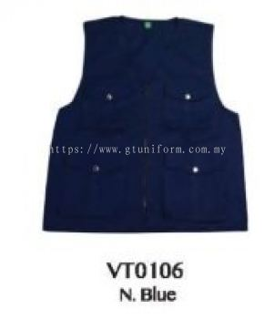 READY MADE VEST VT0106 (N.BLUE)