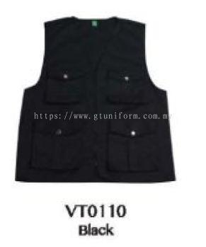 READY MADE VEST VT0110 (BLACK)