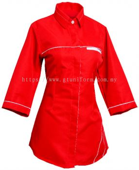 READY MADE UNIFORM F0101 (Red & White)