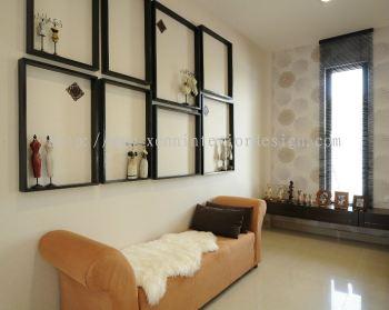 Master Bedroom Display cum Bench