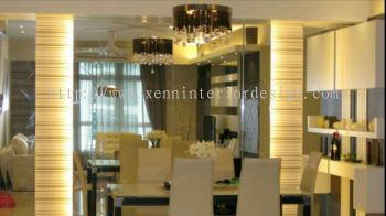 Dining Feature Wall Design