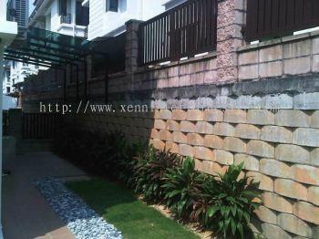 Semi-D Garden Design