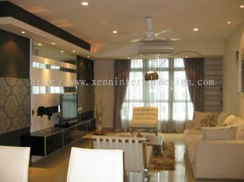 Condo Living Room Design 2